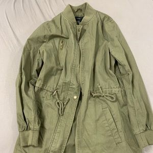 Small Green Army Jacket
